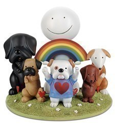 Thank You by Doug Hyde - Cold Cast Porcelain sized 10x7 inches. Available from Whitewall Galleries